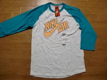 アメリカ企画 NIKE ナイキ 7分 Tシャツ M 新品