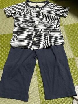 無印良品 男の子パジャマ  110cm