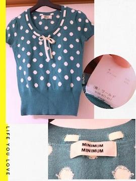 MINIMUM MINIMUM★ニット(*^^*)ドット★