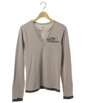 ☆ARMANI EXCHANGE アルマーニエクスチェンジ 長袖Tシャツ/メンズ/XS