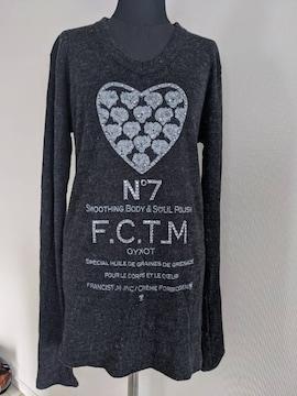 フランシストモークス/FranCisT_MOR.K.S/Vネックニットセーター/サイズ3/スタッズキラキラ/美品