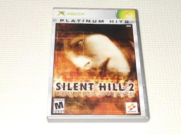 xbox★SILENT HILL 2 RESTLESS DREAMS PLATINUM HITS 海外版