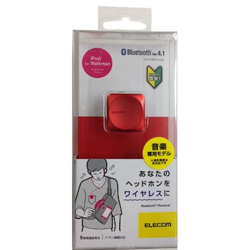 ★ELECOM LBT-PAR01AVPN [Bluetooth レシーバー ピンク]