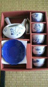【新品・未使用】茶器セット<5客+急須>