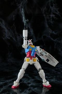 中古 ヒューマブルモデル RX-78 ガンダム
