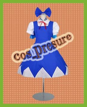 東方Project チルノ◆コスプレ衣装