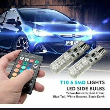 新品 未使用 車 ライト リモコン式 RAINBOW リモート 2