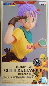 ドラゴンボール GLITTER & GLAMOURS BULMA �V B ブルマ �V B