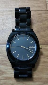 ☆ニクソン/NIXON 時計 ブラック×ゴールド 黒×金