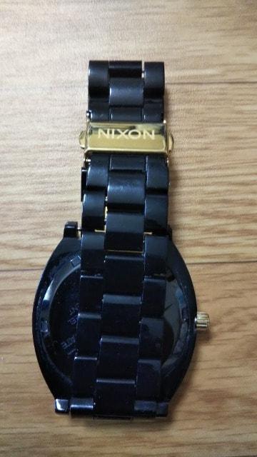 ☆ニクソン/NIXON 時計 ブラック×ゴールド 黒×金 < ブランドの