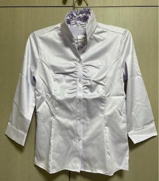 NARACAMICIE ナラカミーチェ フリルシャツ 七分袖定価\20,000
