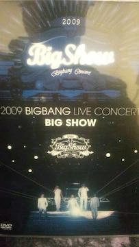激レア!☆BIGBANG/2009LIVECONCERT BIGSHOW☆1万枚限定盤/DVD2枚組