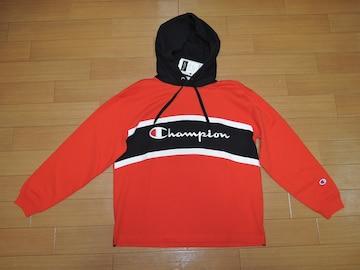 新品チャンピオンChampionパーカーSカットソー薄手ロゴ