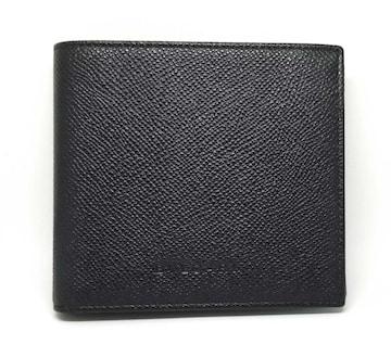 正規未使用ブルガリ財布二つ折り型押しレザー20253クラシ