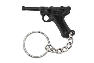 ピストル キーホルダー DENIX 952 ルガー P08 銃 ガン キーリング アクセ キーチェーン