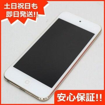 ●安心保証●新品同様●iPod touch 第6世代 16GB ゴールド●