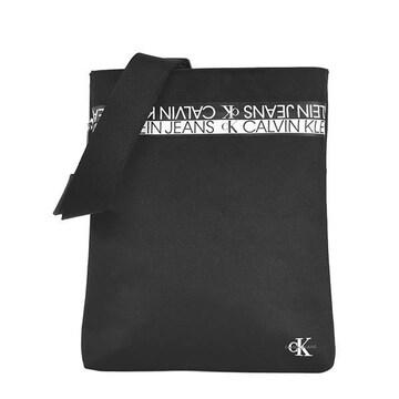 ◆新品本物◆カルバンクラインジーンズ ショルダーバック(BK)『K50K506539』◆