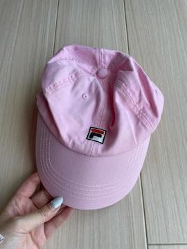 美品 FILA フィラ 帽子 キャップ 紫外線対策 キッズ レディース