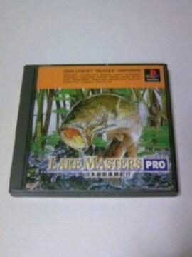 PS レイクマスターズPRO / プレステ ポケステ対応 魚釣り バスフィッシングゲーム