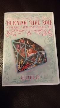 GUILD「BURNING LIVE 2011」DVD