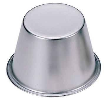 ステンレス製 ジャンボ プリン・マフィン カップ