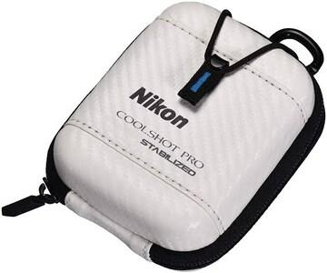 ホワイト Nikon ゴルフ用レーザー距離計 COOLSHOT用ハードケース