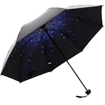 HaAimNay 折りたたみ傘 満点の星 日傘 晴雨兼用 遮光 遮熱 UPF50