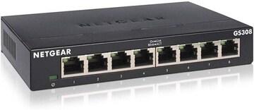 NETGEAR スイッチングハブ ギガビット 8ポート ファンレス 設定