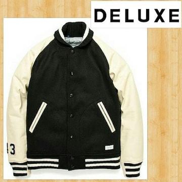 定価69120円 DELUXE CLOTHING デラックス スタジャン レザー S