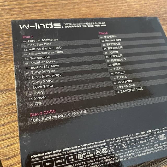 【w-inds.】10TH ANNIVERSARY BEST ALBUM < タレントグッズの