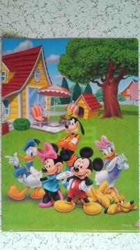 クリアファイル(ディズニー、ミッキー)