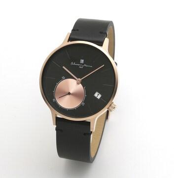 サルバトーレ マーラ クオーツ メンズ 腕時計 SM20105-PGBK
