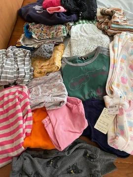 女の子 服 まとめ売り おもちゃも少し ベビー服あり(^ ^)
