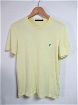 ☆LOUIS VUITTON ルイヴィトン ワンポイント刺繍 Tシャツ 半袖/メンズ/XS