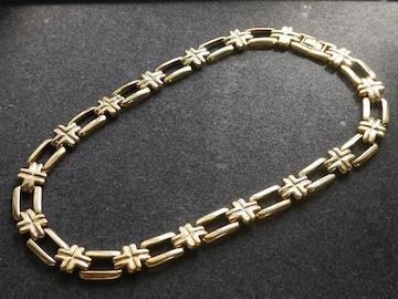 新品 アンティーク調 金色のネックレス