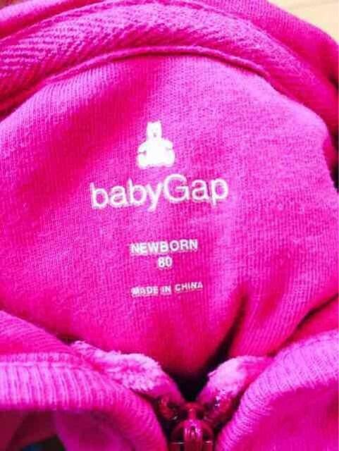 babyGap/ピンク/パーカー/80/送料込 < ブランドの