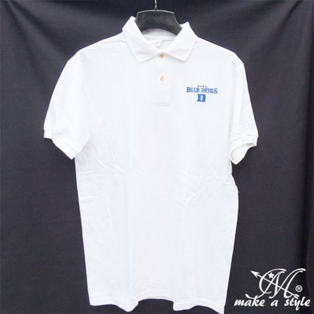 Duke デューク ブルーデビルズ ポロシャツ 半袖 424 L  < 男性ファッションの