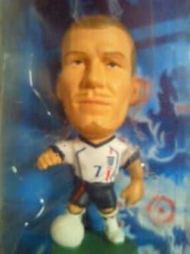 PRO Stars サッカー イングランド 代表 ベッカム フィギュア 2002