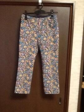 日本製 小花柄パンツ