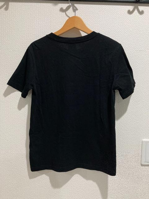 GU ジーユー ELLE エル コラボ 半袖 tシャツ トップス レディース 黒 ブラック < ブランドの
