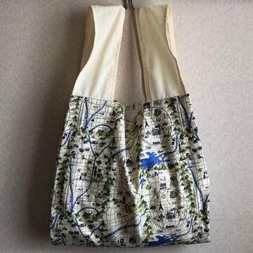 ☆ハンドメイド/布製*エコバッグ�F