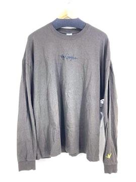 Mark Gonzales(マークゴンザレス)バックプリントロングスリーブカットソークルーネックTシャツ
