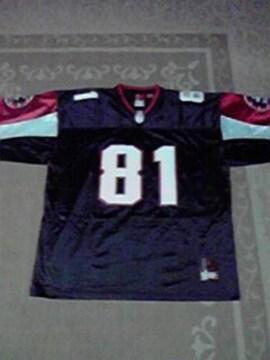 新品未使用 5bac フットボール ゲームシャツ XL 黒