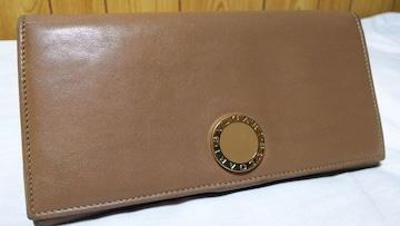 正規美 ブルガリ コローレ B-zeroロゴ長財布茶×ゴールド 小銭入れ ウォレット