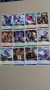 仮面ライダーカード レンジャーズストライク12種�L
