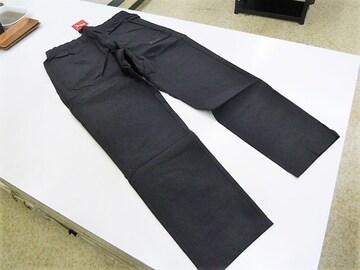 L 黒)プーマ★ウーブンパンツ 580716 ロングパンツ 伸縮 腰ゴム