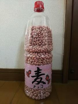 取っ手付★麦チョコポット★イチゴ(^o^)/