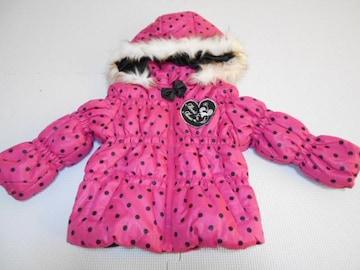衣類 キッズ 80サイズ ダウンジャケット ミニーマウス