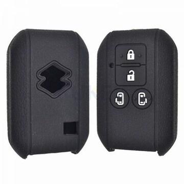 汎用品SUZUKIシリコン キー カバー スズキ4ボタン スマートキー