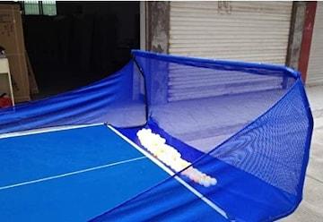 CKR 卓球ト レーニングマシン用 卓球台取り付けネット iPong(